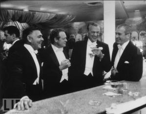 Clark Gable, Van Heflin, Gary Cooper, Jimmy Stewart