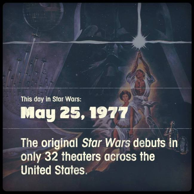 A long time ago in a galaxy not so far away...