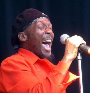 World renowned Reggae performer, Jimmy Cliff
